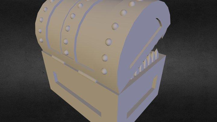Fantasy chest WiP 3D Model