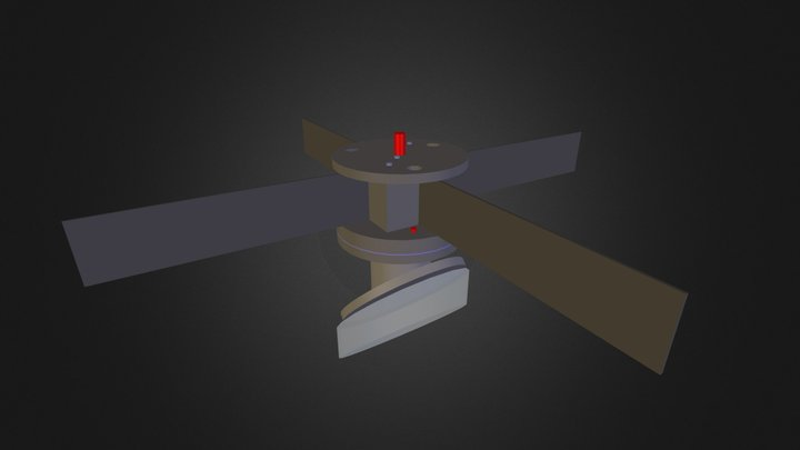 aranha secundario 3D Model
