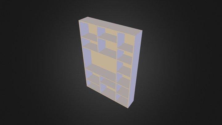 Meuble bibliotheque2 export.STL 3D Model