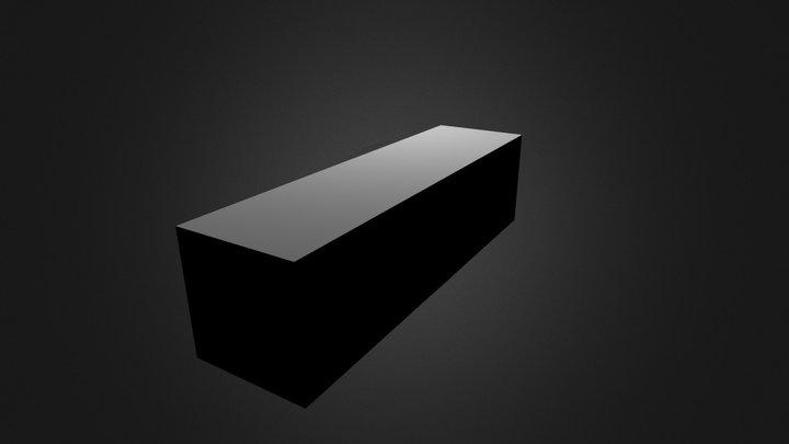 Rectaglure prisim 3D Model