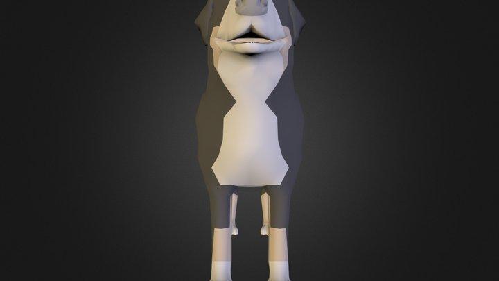 dog.dae 3D Model