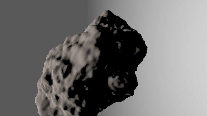Asteroid.blend 3D Model