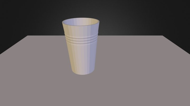CUPs.3ds 3D Model