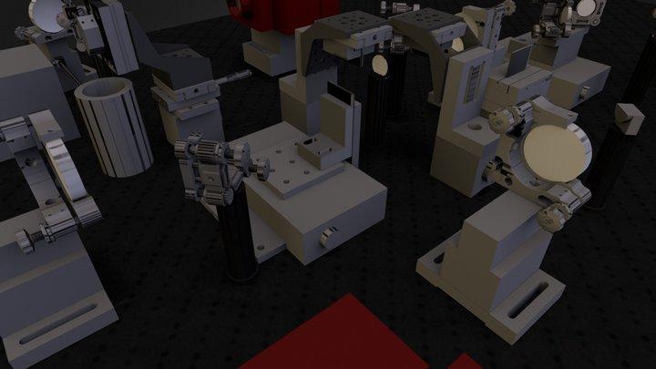 2D-ES Experiment 3D Model