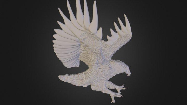 Eagle, 90% reduced (Vizup demo sample) 3D Model
