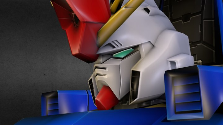 ZZ Gundam 3D Model