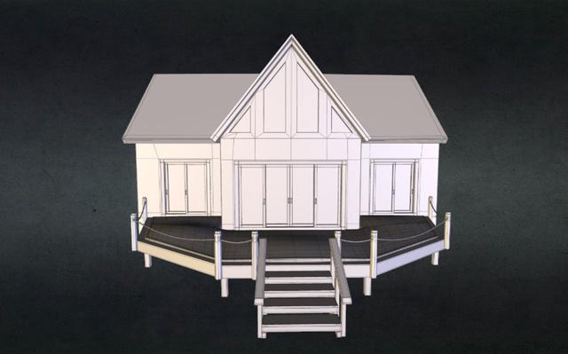 cabin.obj 3D Model