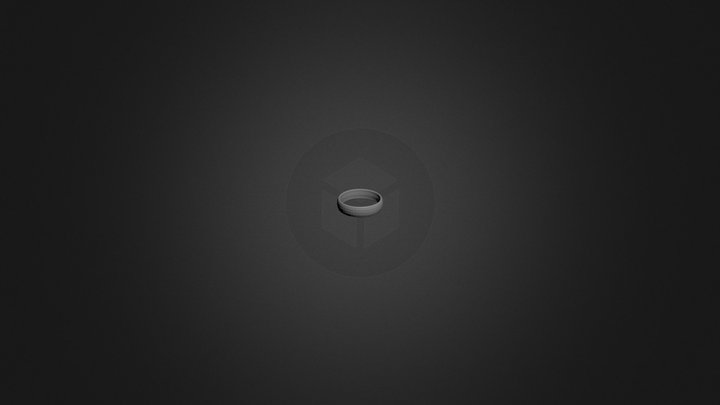 Simple_ring.blend 3D Model