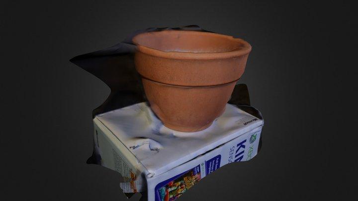 P5 Austin Hailey Planter Pot model 3D Model