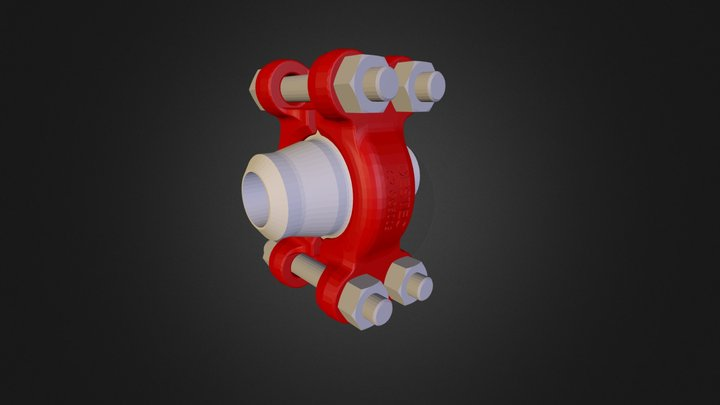 G-Range Clamp Connectors 3D Model