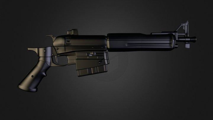 StrangerRifle 3D Model