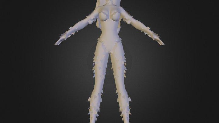 villain150.dae 3D Model