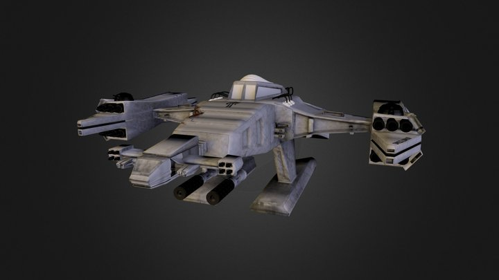 Shogun Ship 3D Model