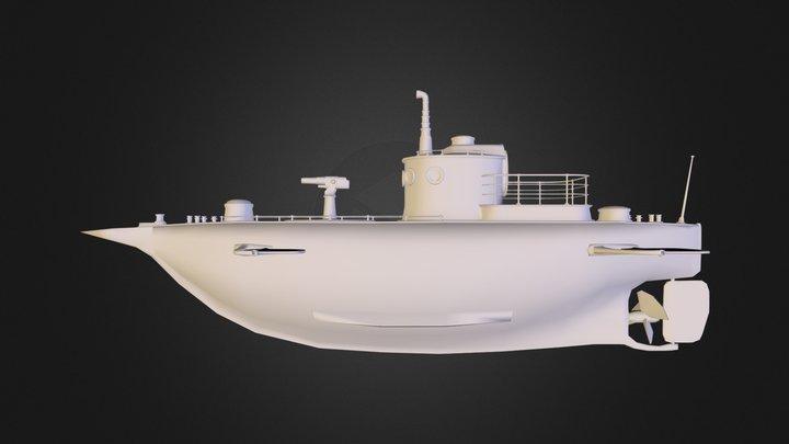 submarina.obj 3D Model