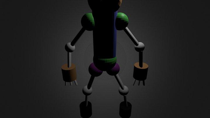 robot2.blend 3D Model