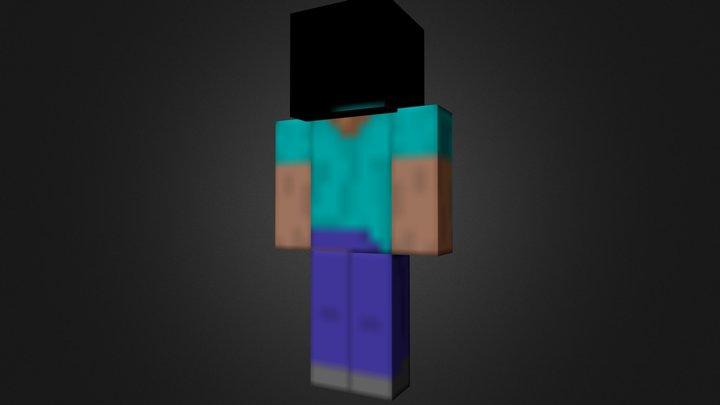 MinecraftPlayer.blend 3D Model