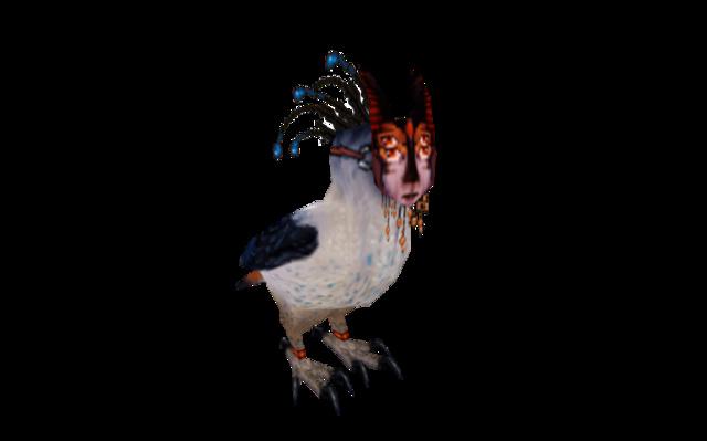 TGA - Caroline Wallberg - Spirit Bird Messenger 3D Model