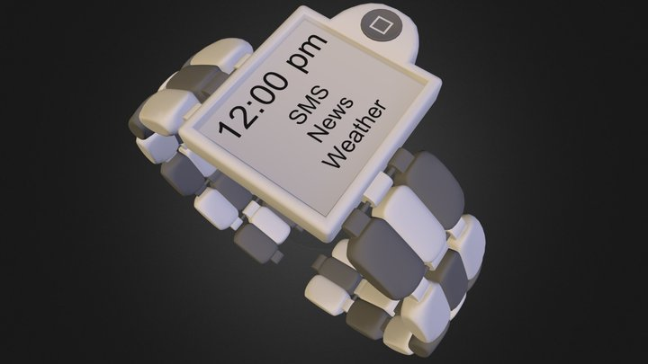 iWatch First try 3D Model