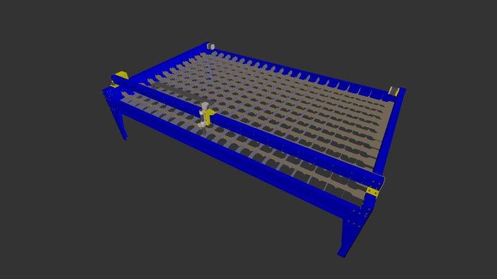 Plasmatronic 3015 3D Model