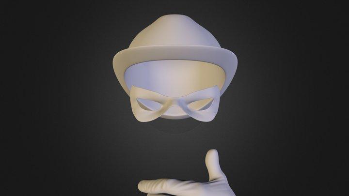 Riddler1.OBJ 3D Model