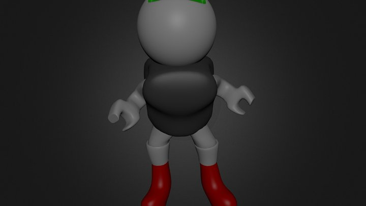 roboman is getting it on 3D Model
