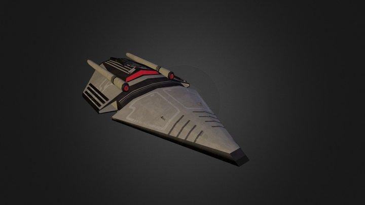 vaisseau_exp.obj 3D Model