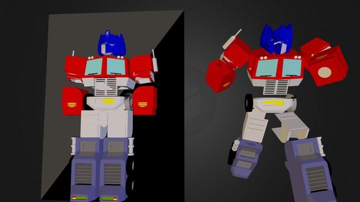 optimus prime.dae 3D Model