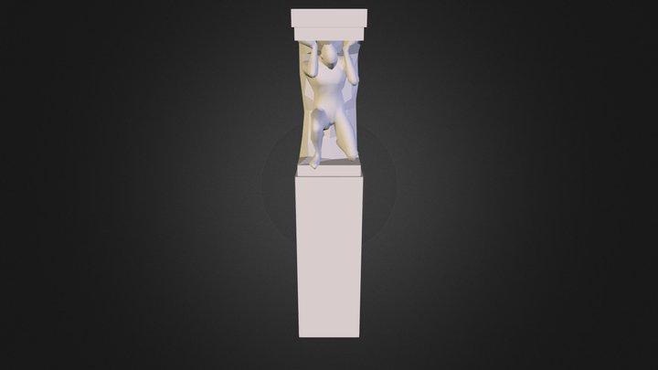 Pillar Statue 3D Model