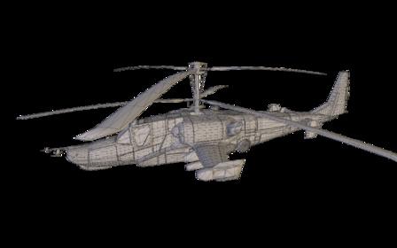 KA50 Hokum 3D Model