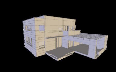 ModernHouse 3D Model