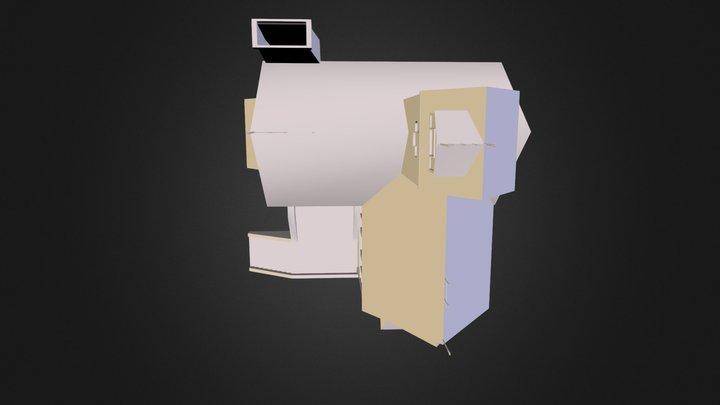 med_house_final.obj 3D Model