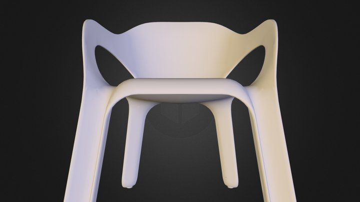 Senza chair 3D Model