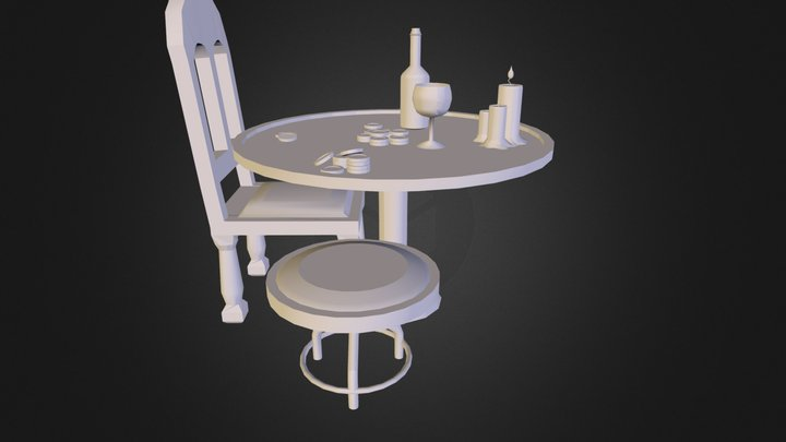 table.3DS 3D Model