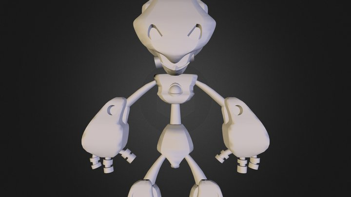 robot.3DS 3D Model