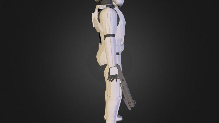 Stormtrooper.3ds 3D Model