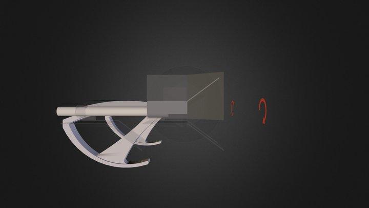 MountOnArmRestsMovement.dae 3D Model