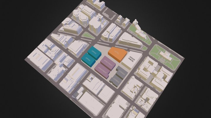 CovSite1.3ds 3D Model