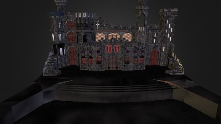 Born This Way stage 3D Model