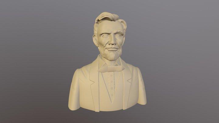 Lincoln.OBJ 3D Model