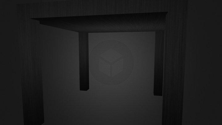 LACK BLACK 3D Model