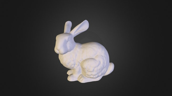 bunny-flatfoot 3D Model