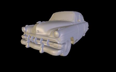 Bel Air 1954 3D Model