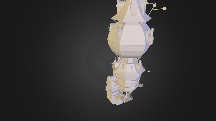 clocktower.obj 3D Model
