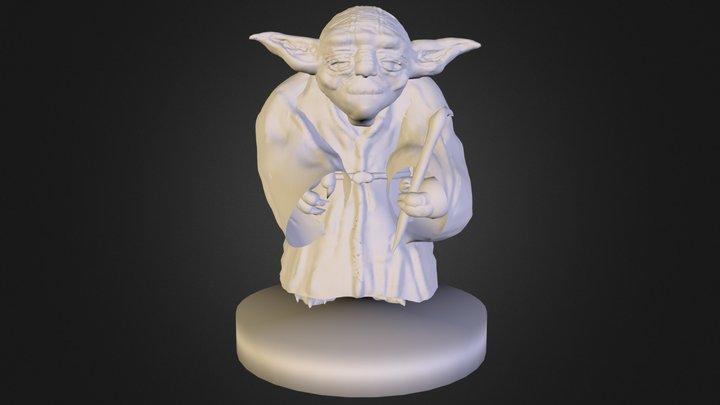 Yoda Sketchfab.obj 3D Model