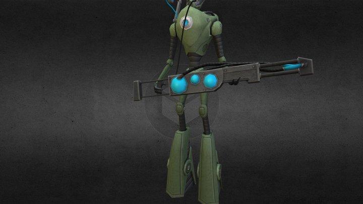 alien.obj 3D Model