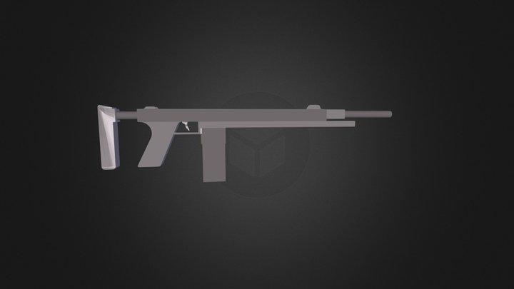 C0BR Rifle 3D Model
