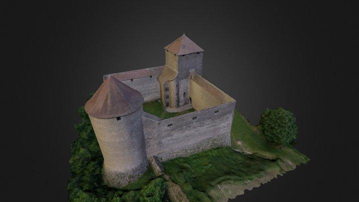 Château Des Allymes 3D Model