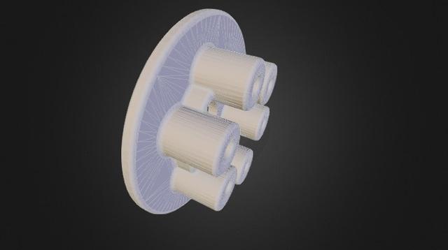 Pressure Plate 3D Model