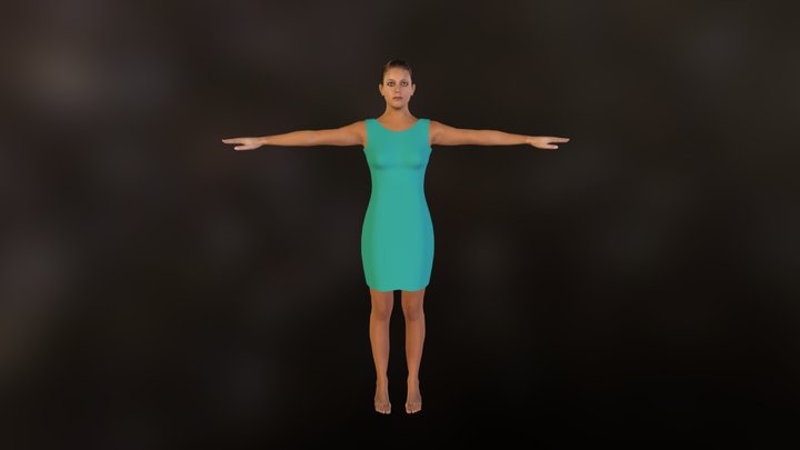 demo_clothed_green.zip 3D Model