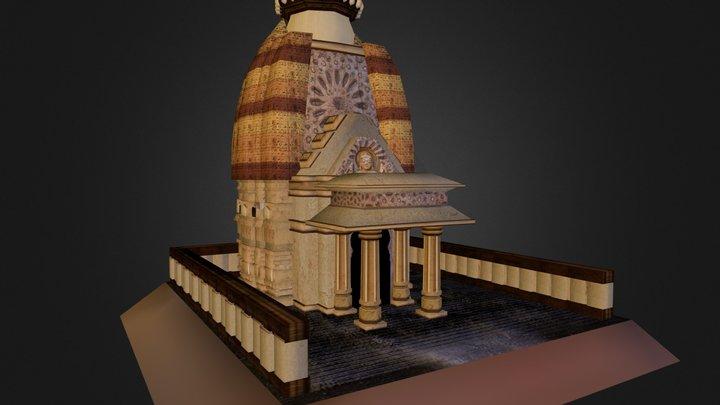 Lakshmana Temple 3D Model